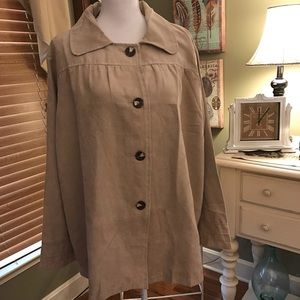 Jackets & Blazers - Women's Plus Size Lightweight Jacket - NWOT